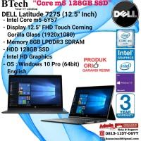 """DELL Latitude 7275 (12.5"""" Inch) Core m5-6Y57/8GB/128GB SSD/Win10Pro"""
