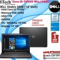 """DELL Vostro 3468 (14"""" Inch) Intel Core i3-7020U/4GB/1TB/Win10HSL"""