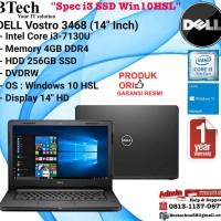 """DELL Vostro 3468 (14"""" Inch) Intel Core i3-7130U/4GB/256GB SSD/Win10HSL"""