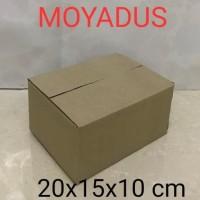 kardus/karton /box packing polos tipis bagus murah meriah