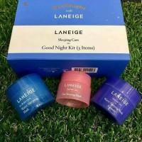 Laneige Sleeping Care Good Night Kit - 3 items ( Lip + Water Mask ) thumbnail