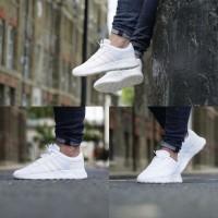 Sepatu Adidas ORIGINAL CloudFoam Neo Lite Racer Full White