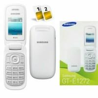 Hp samsung Lipat flip Caramel GT-E1272 - Samsung Murah -GRS Resmi