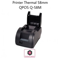 Printer POS Kasir Antrian Thermal QPOS 58mm Q58M USB
