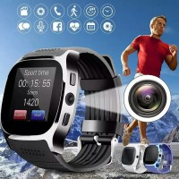 Jam Tangan Android Kamera Smartwatch T8 Support Simcard Bluetooth Mp3