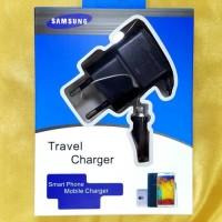 Travel Charger Samsung Galaxy Cocok untuk Hp samsung ukuran kecil