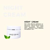Night Cream pelembab untuk kulit sensitif & mencerahkan wajah