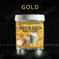 Cat Emas Gold Acrylic Metaliqua 100 Ml