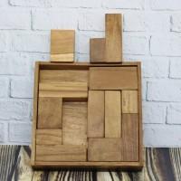 Puzzle Tetris Persegi
