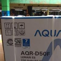 Jual STOK TERBARU PROMO KULKAS portable mini AQUA AQR D50F Murah Murah
