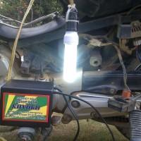 Kualitas Terjamin Genset Listrik Mini portable 125 Watt Tenaga Sepeda