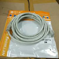 Kabel LAN/UTP 3 Meter Cat5E kabel LAN CCTV Wifi