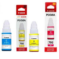 CANON TINTA BOTOL GI790 COLOR UNTUK PRINTER CANON G1000, G2000, G3000