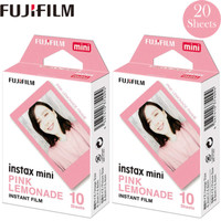 Refill Instax Mini Instant Film Pink Lemonade Motif isi 20 lembar