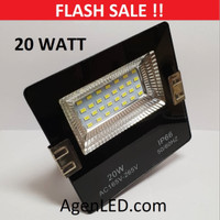 LED SOROT 20W Flood Light Lampu FLOODLIGHT tembak 20 w watt outdoor