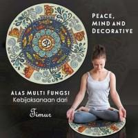 Alas Meditasi Dekorasi Multifungsi Kebijaksanaan dari Timur (MM02A)
