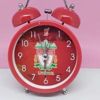 Jam weker silver besar Liverpool FC