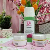 Paket untuk wajah GLOWING DRW Skincare GRATIS POUCH KOSMETIK