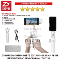 Zhiyun Smooth 4 Black - Gimbal 3-Axis Smartphone Stabilizer