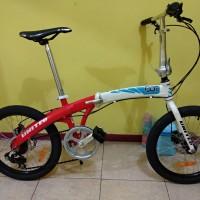Sepeda Lipat Seli United Dot Alloy (not polygon dahon tern pacific)