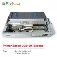 Printer Epson A3 Dot Matrix LQ2190 LQ-2190 LQ 2190 Bekas Lengkap