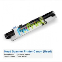 Head Scanner Printer Canon MP145 & Kabel Scanner Used