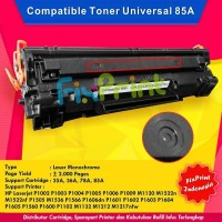 Cartridge Toner Compatible HP 85A CE285A Printer Laserjer P1102 P1102W