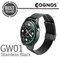 SALE! COGNOS SMARTWATCH GW01 - GSM - HEART RATE - STAINLESS BLACK