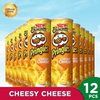 Pringles Cheesy Cheese 107gr (1 Carton - 12 Pcs)