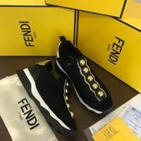 ICN1 Fendi sneakers jaring gold