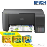 Epson Printer L3110 Print Scan Copy - Hitam