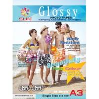Kertas Foto A3 - SUN Photo Glossy Next Generation Photo Paper 240 Gsm