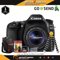 Canon Eos 80D Kit 18-55mm Is Stm (Paket)