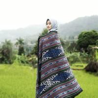 kain tenun ikat blanket etnik lombok TB066