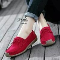 Jual Red Flat Shoes  3c610c0d7a