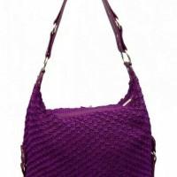 Harga quinbagsjogja totebag speedy rajut warna ungu tua tas rotan | antitipu.com