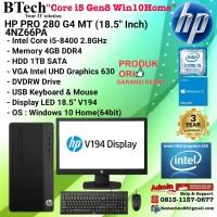 HP PRO 280 G4 MT - 4NZ66PA Core i5-8400/4GB/1TB/DVDRW/Win10Home/3YR