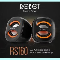 Harga baru speaker robot rs160 usb portable for pc komputer | Hargalu.com