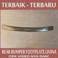 Rear Bumper Footplate Livina - Model 2