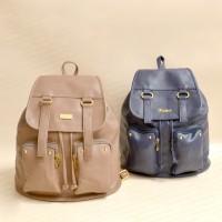 Tas Ransel Kulit Terbaru Lucu & Simple - Bagtitude Mint Cleo Backpack