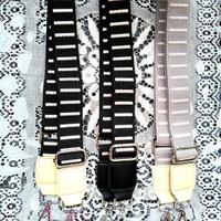 Handle tas/tali tas selempang motif garis