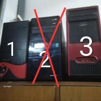 Kasing Kesing Casing PC Komputer Bekas