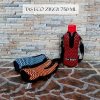 TAS BOTOL ECCO ZIGGY 750 ML / SARUNG BOTOL /TERMURAH