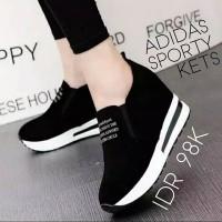 Women Shoes Adidas Sporty kets black