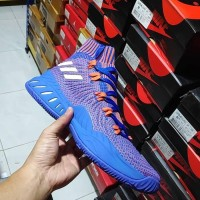 Sepatu Basket Crazy Explosive 2017 Primeknit Knicks Blue