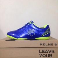 Harga sepatu futsal anak kelme star 9 junior royal lime 1115703 original | antitipu.com