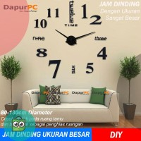Jam Dinding Ukuran Besar DIY 80-130cm Diameter - Giant a51dd16061