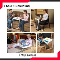 Meja Komputer Meja Laptop Portable kokoh Bahan Besi Ringan Murah Sale
