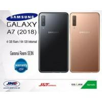 HP Samsung Galaxy A7 2018 4gb - 64gb Garansi Resmi Hitam
