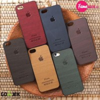 TERBARU WOOD CASE / CASING - CASE HP / IPHONE 4 4S 5 5S 6 / HARGA